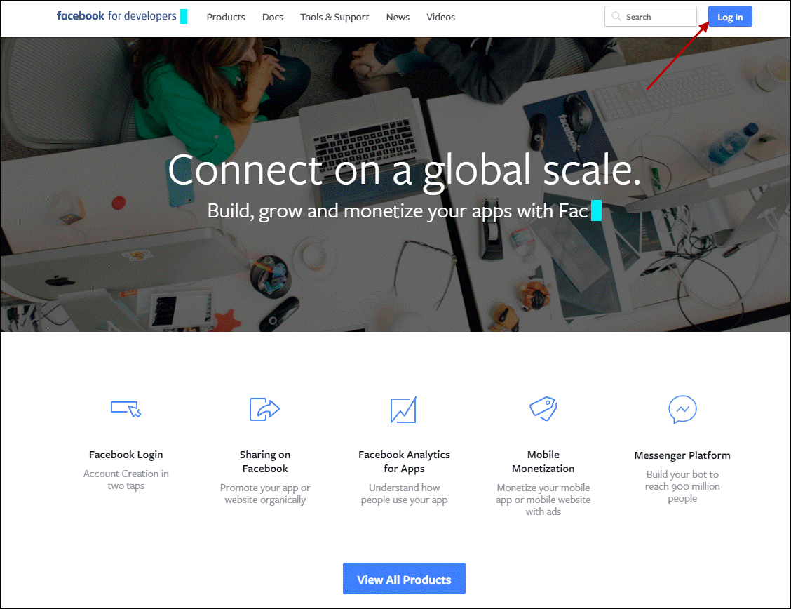 connect on a global scale