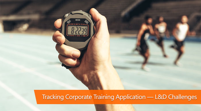 tracking corporate training application