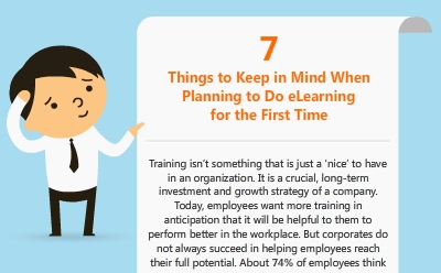 7 Things to Keep in Mind When Planning to Do eLearning for the First Time