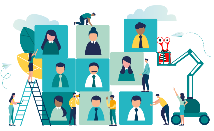 LMS with User Role and Group Management